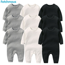 Baby Boys Rompers Roupa De Bebes Long Sleeve Winter Soft Cotton Girls Clothes NewBorn Clothing
