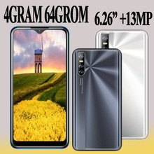 Wifi 4G RAM Android Mobile Phones Global 6 26 #8243 Water Drop Screen Smartphones 5e 64G ROM 13MP Face ID Unlocked Cell Phones 2SIM cheap NoEnName_Null Detachable Other CN(Origin) Face Recognition 3200 Adaptive Fast Charge english Russian German French Spanish