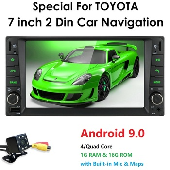 2din Android 9.0 Car Media Player for Toyota RAV4 Prado Corolla Vios Hilux Terios Vitz Avanza Land Cruiser 4Runner FJ Cruiser PC image