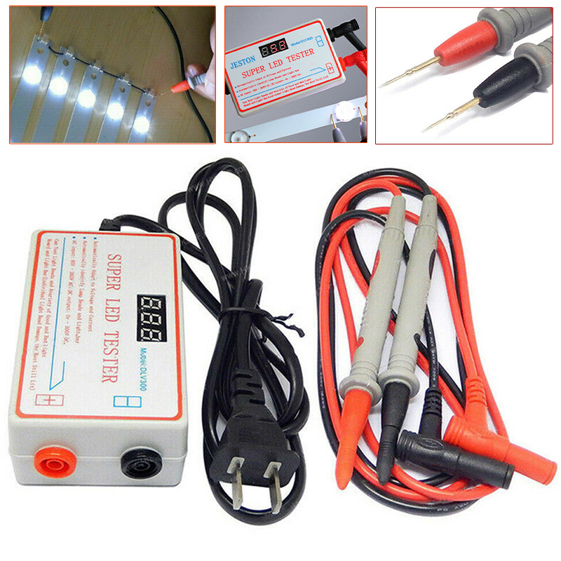 1Set LED LCD Backlight Tester TV Meter Repair Tool Lamp Beads Strip 0-300V Output EU Plug Measurement & Analysis Instruments