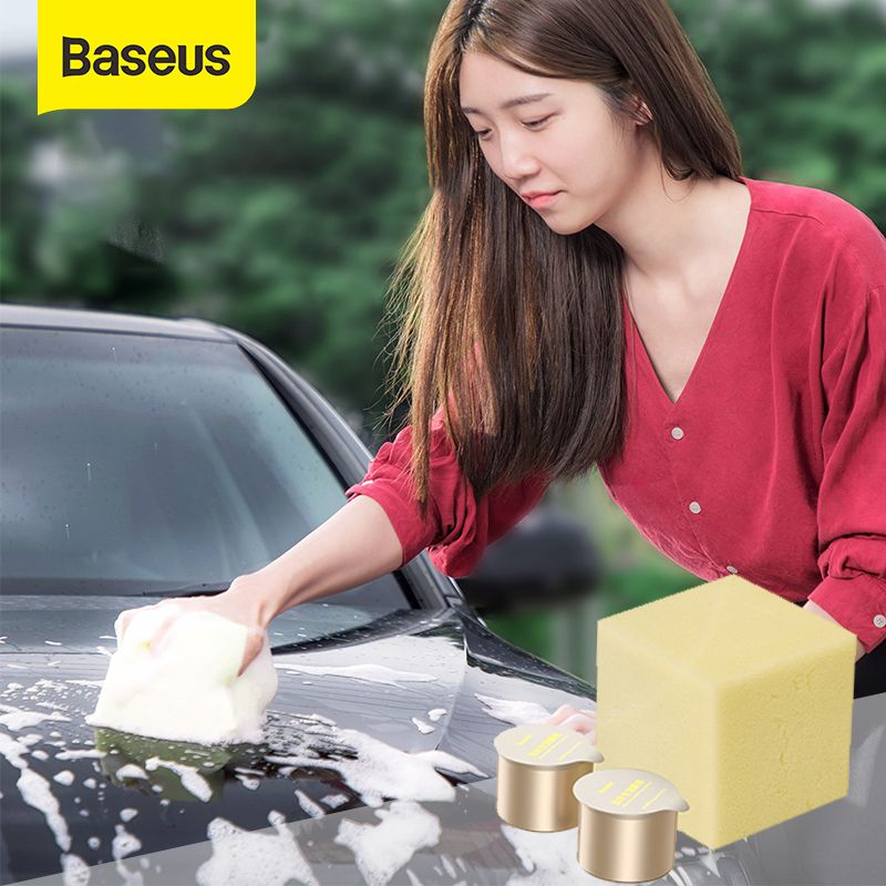 Baseus Car Wash Shampoo Effervescent Tablets Solid Cleaner For Car Home Washing Auto Window Glass Cleaning Water Car Accessories
