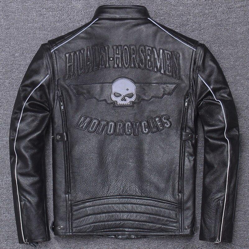 100% Genuine Leather Jacket Men Clothes 2020 Autumn Winter Real Cow Leather Jackets Men Leather Coats Jaqueta De Couro Hiver 117