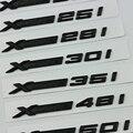 Voll Schwarz XDrive 20i 25i 28i 30i 35i 40i 50i 20d 30d 35d 40d 50d Fender Emblem Abzeichen für BMW x3 X4 X5 X6 X7 Auto Stamm Aufkleber