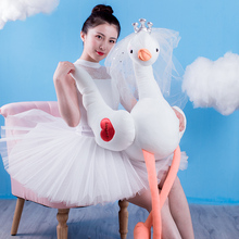 Swan Decoration Pillows Princess Plush Toys Cute Flamingo Doll Stuffed Soft Toy for Children Girlfriend Birthday Gift Kids Toys flamingo stuffed plush toy flamingo bird stuffed soft doll kids toy birthday gift for children kids girls