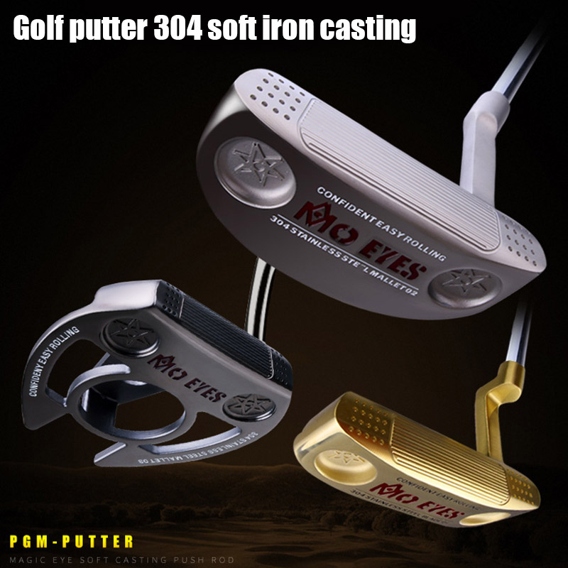 Professional Golf Club Push Rod Tilting Neck 304 Soft Iron Casting For Outdoor Sports Products  ENA88