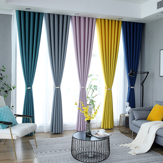 Modern Blackout Curtains For The Living Room Bedroom Curtain Drapes On The Window Curtains For The Kitchen Door Children Kid
