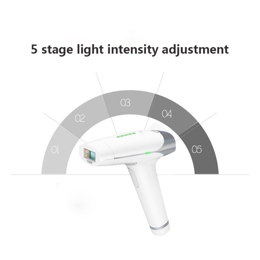 Dispositivo permanente portátil da remoção do cabelo senhoras rosto corpo depilador trimmer confortavelmente fácil de usar sem qualquer dor melhorar os poros - 6