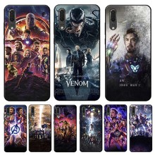 Captain America Iron Man Avengers Cover for huawei honor 9x pro 8x 10 20 lite  Clear Soft Silicone Phone Case