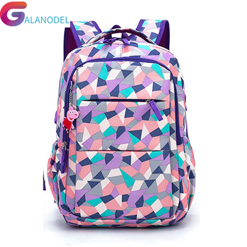 For 2019 Children School Bags ZIRANYU Teenagers Boys Girls Big Capacity School Backpack Waterproof Satchel Kids Book Bag Mochila