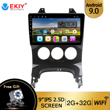 EKIY 9 IPS Car Radio Multimedia Video Player For Peugeot 3008 2013 2014 2015 Android 9.0 Autoradio Navigation GPS With Canbus image