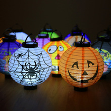 Halloween Decorative Led Pumpkin Chandelier Horror Lamp Supplies lantern lampion haloween decoration