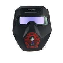 Auto Verdunkelung Schweißen Brille Breite Schatten mit Schweißen Gläser Schweißer Maske Schweißen Helm für TIG MIG ARC Plasma Cut