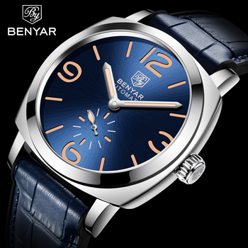 BENYAR 2020 New Mens Watches Top Brand Luxury Automatic Mechanical Men's Watch Men Business Waterproof Sport Watch Reloj Hombre ruimas automatic mechanical watch men luxury top brand retro business mens es male clocks wristwatch reloj hombre