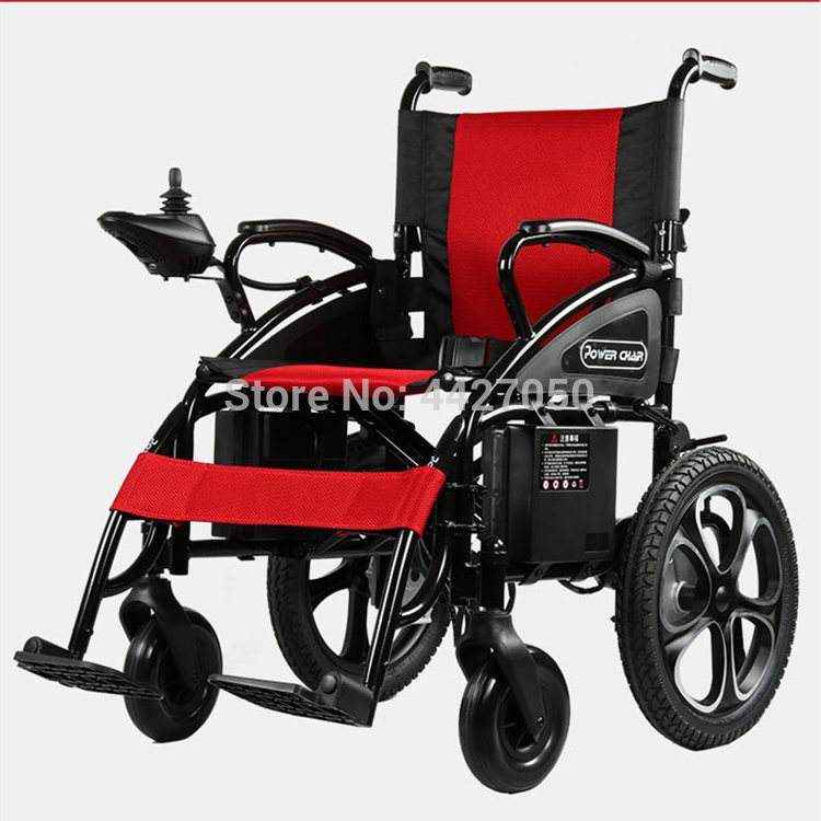 Free shipping hot sale limited time discount folding electric wheelchair cost-effective scooter 1