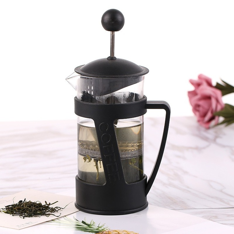 350ML Coffee Pot Manual French Presses Pot Coffee Maker Filter Pot Cafetera Expreso Percolator Tool For Tea Filter Cup