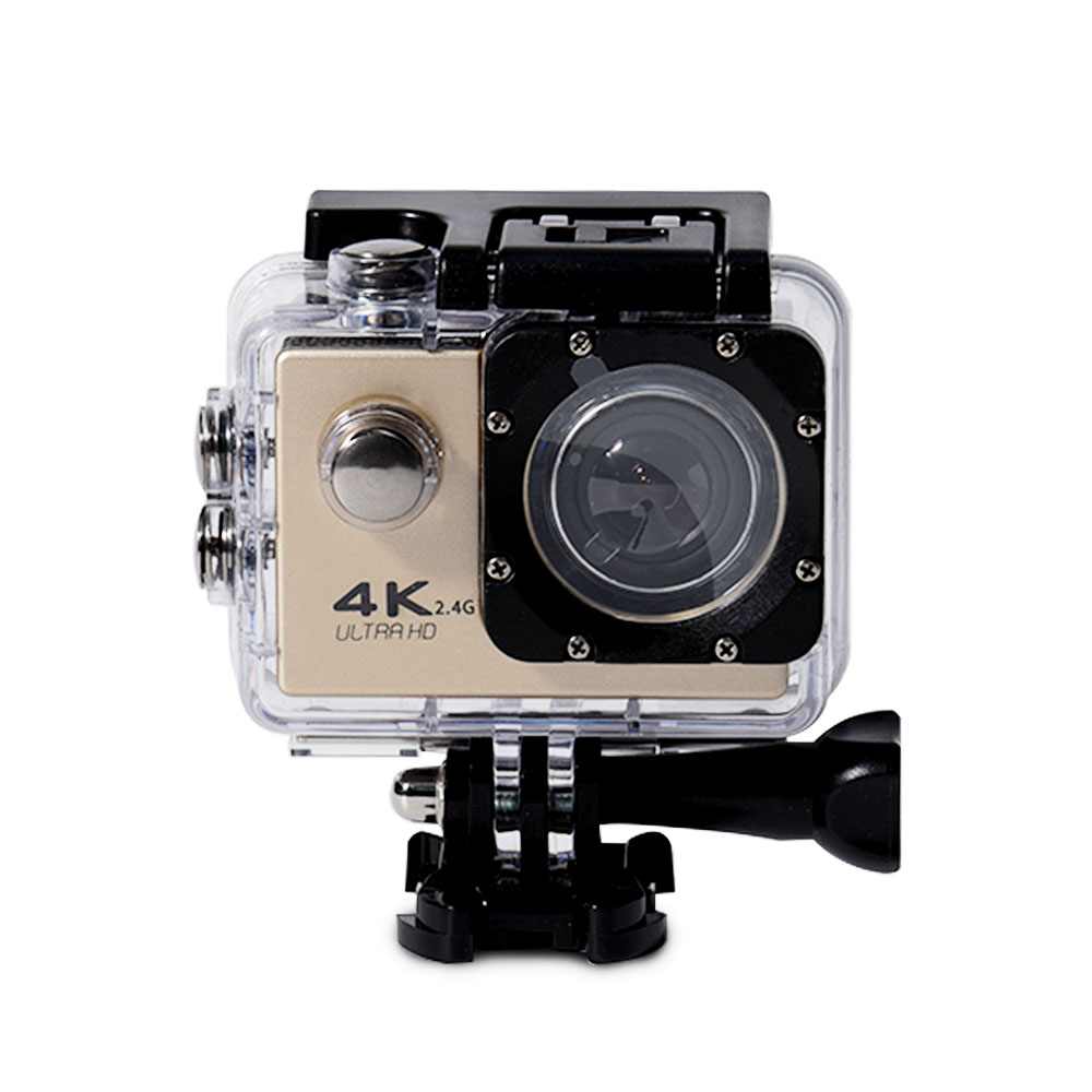 Action Camera Ultra HD 4K WiFi 2.0 170D Underwater Waterproof Cam Helmet Vedio Go Sport Pro Came with Remote Control image