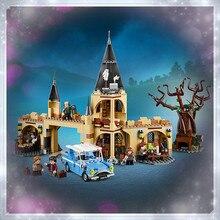 цена на Magic Whomping Willow Set Building Blocks Bricks Assembly Kids Toys Christmas Gifts Model 16054 Magic Movie Toys The 75953