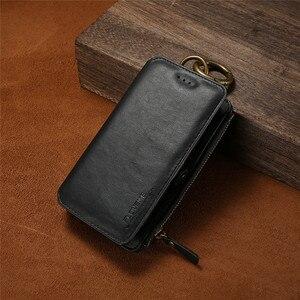 Image 5 - Funda de teléfono de cuero para Samsung Galaxy S20 Ultra S10 E S9 S8 Plus S7 S6 Edge, BILLETERA, funda de tarjeta para Samsung Note 20 10 9 8 5