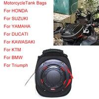 For BMW KTM KAWASAKI HONDA SUZUKI YAMAHA DUCATI Motorcycle Oil Fuel Tank Bags Pockets Mobile Phone Navigation Bag Fast Unpacking