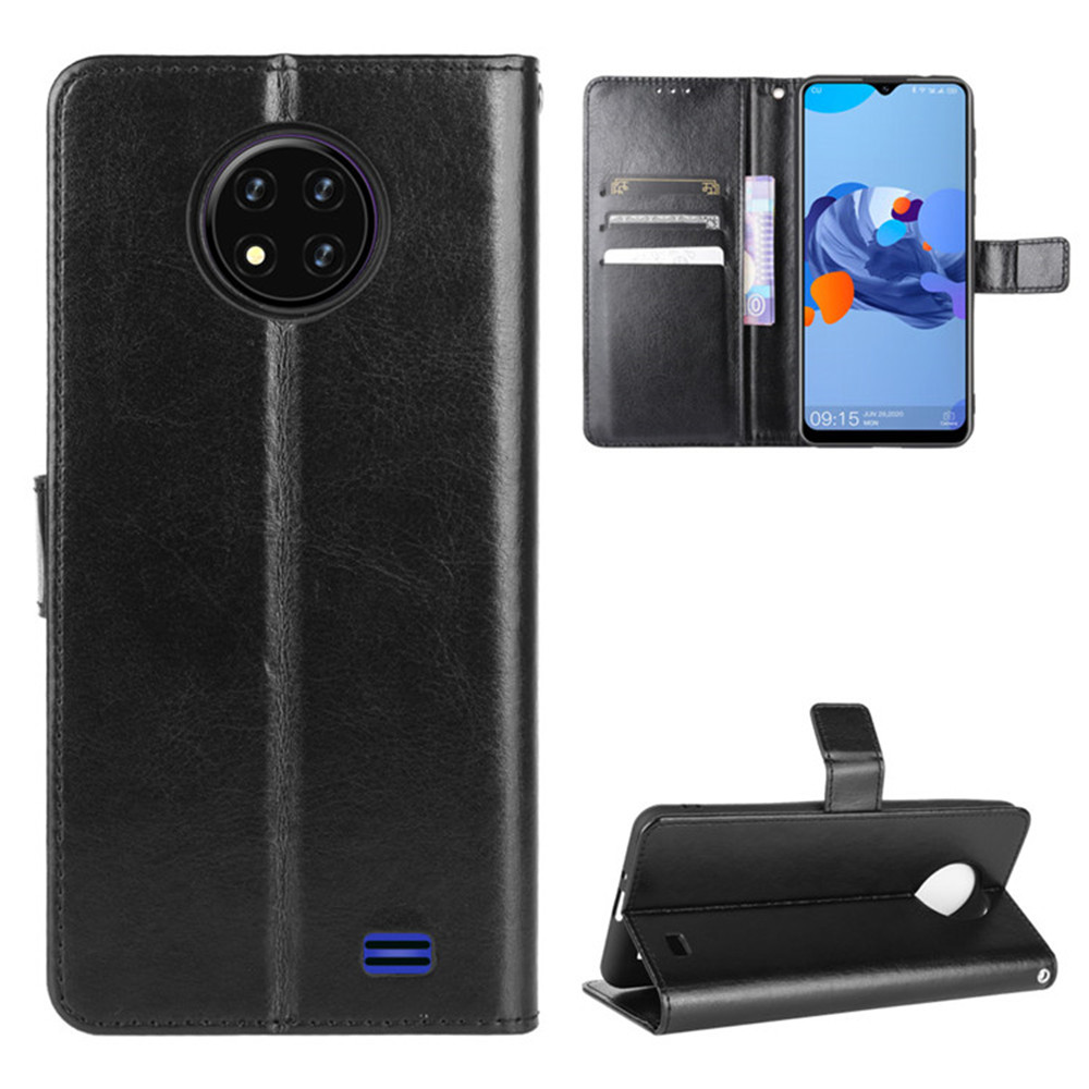 For Oukitel C19 Case Luxury Flip PU Leather Wallet Lanyard Stand Shockproof Case For Oukitel C19 C 19 Phone Bags
