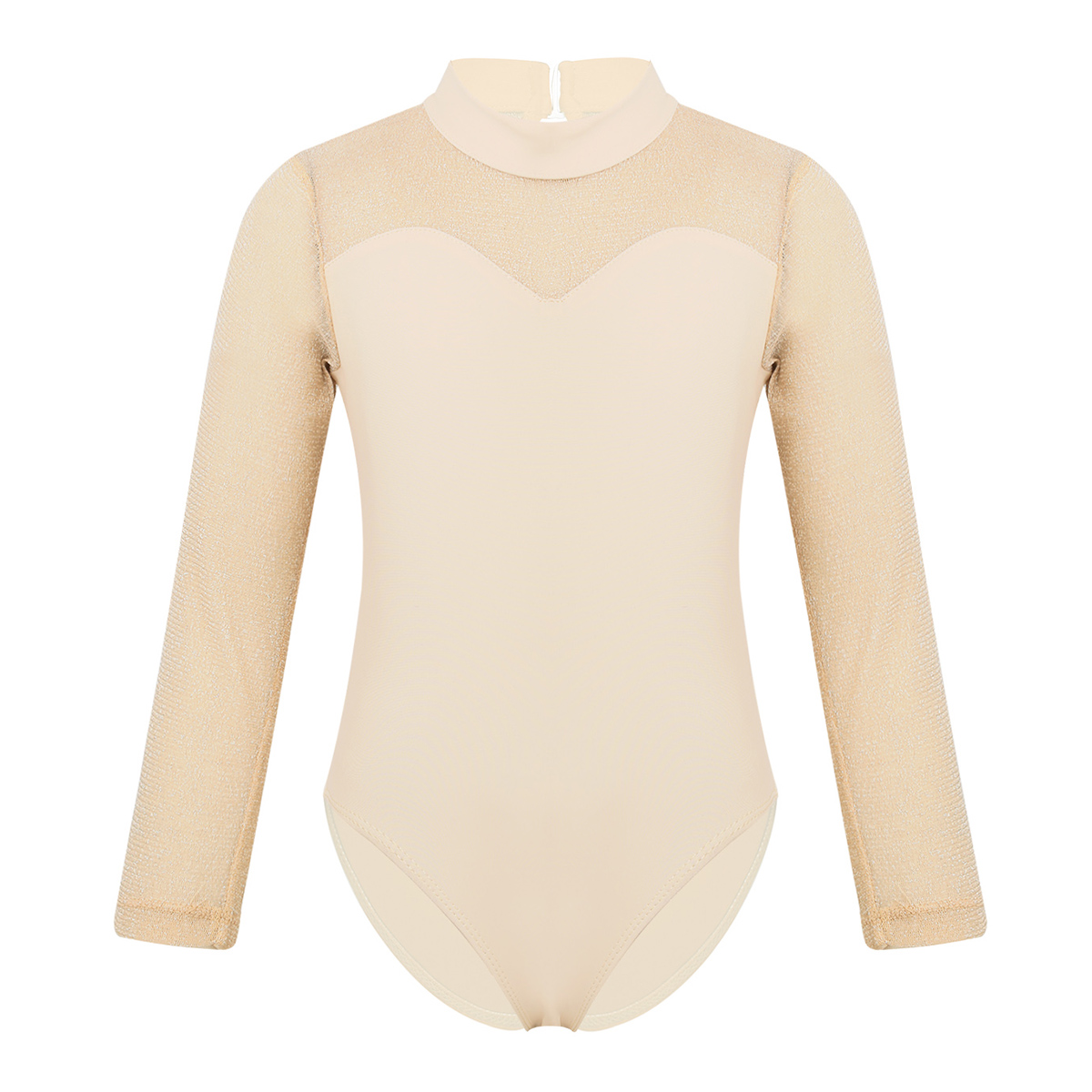 ESHOO Girls Gymnastic Bodysuit Lace Fly Sleeve Leotards Dancewear Ballet Costume