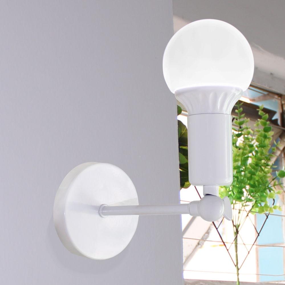 Modern Nordic Sconce Wall Lamp E27 Adjustable Corridor Bar Lamp for Home Light Lighting Fixture Vintage