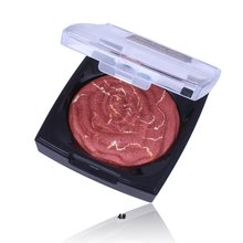 Rose Mixed Color Blush Baking Powder Rouge Baking Blush Can Make Eye Shadow Blush Lasting M