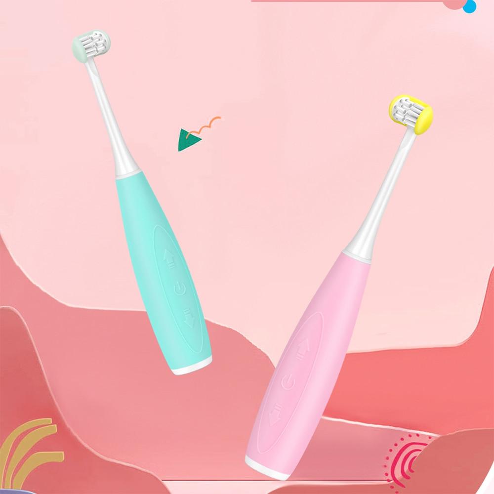 USB Charging Sonic U-shaped Children's Toothbrush