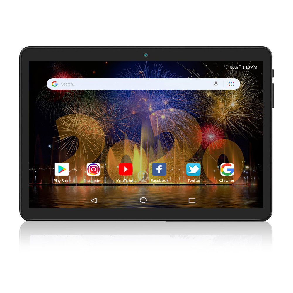 2020 NEW 10 Inch Tablet, Android 9.0, 32GB Storage,Support 4G Phone Call, Octa-Core Processor, 1920x1200 IPS HD Display, Wi-Fi