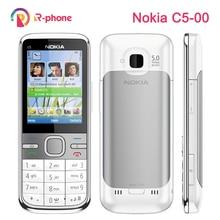 Originele Nokia C5 Mobiele Telefoon 3G Unlocked Gerenoveerd Klassieke Telefoon C5 00 Engels Russisch Arabisch Toetsenbord