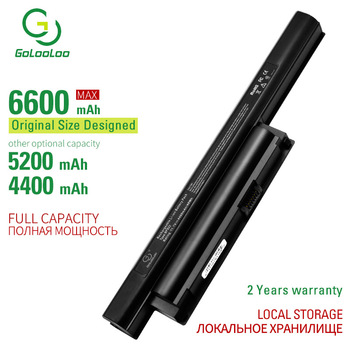 Golooloo 11.1V 6 cells laptop battery for Song VGP-BPS22 VGP-BPS22A VAIO PCG-61315L VAIO VPC-E1Z1E VAIO VPC-EA -EA1 -EB -EB11FD gololoo 6600mah new battery for sony vaio vgp bps26 sve141 sve14a sve15 17 vpc ca3s6c vpc ca190 bps26 bpl26 vgp bps26a vpceh16ec