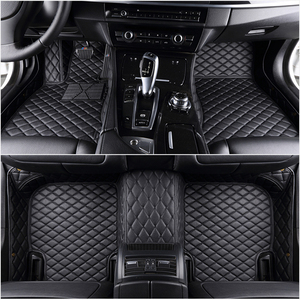 Custom 5 Seat car floor mats for renault fluence Duster LAGUNA Koleos KAPTUR KADJAR all models car mats auto accessories(China)