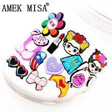 Charms-Accessories Shoe-Decoration Bra Flower-Girl Croc Jibz Bunny Kids Cartoon for Party