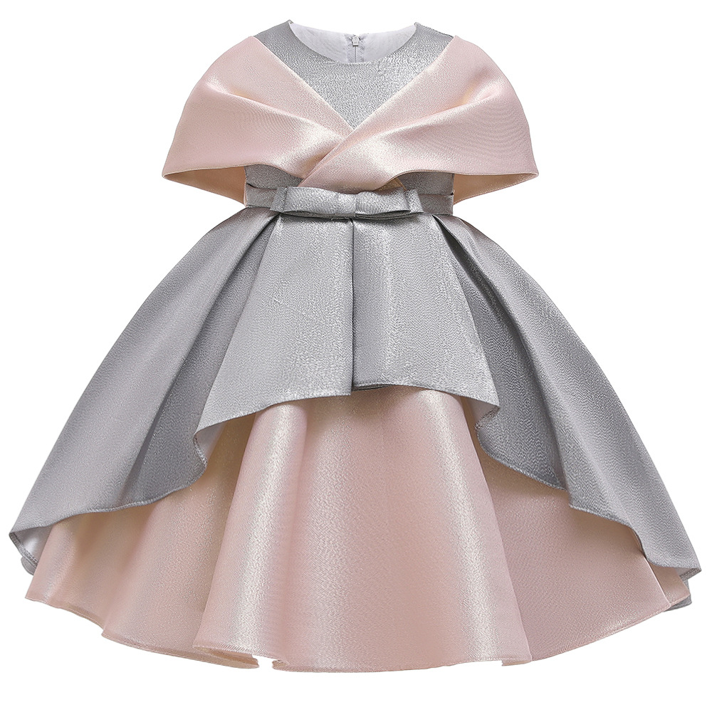 New Baby Infant Toddler Girl Pageant Wedding Formal Pink Party dress size 0-36M