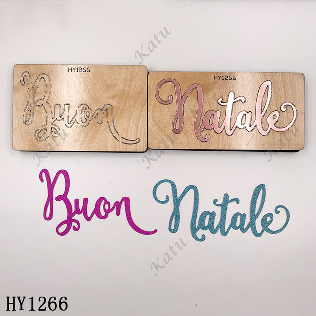 Merry Christmas Letter cutting dies 2019 new die cut &wooden dies Suitable  for common die cutting  machines on the market