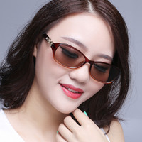 Vazrobe Small Sunglasses Women Glass Sun Glasses for Woman Shades Natural Crystal Lens Anti Scratch Anti Eye Dry Female Ladies