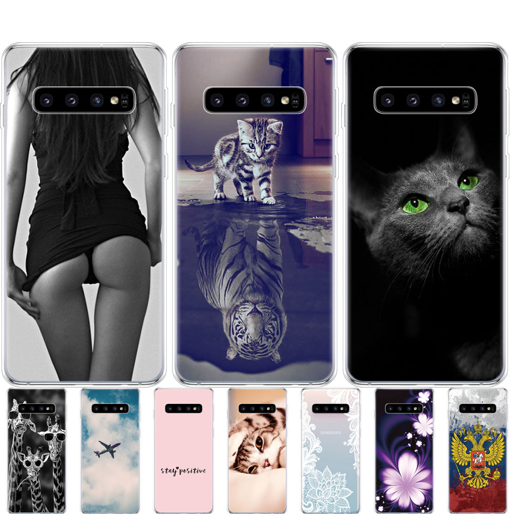 For Samsung Galaxy S10 Case S10Plus Case Silicone TPU Cover Phone S10 E Case On For Samsung S10 Plus G975F S 10 SM-G973F Case