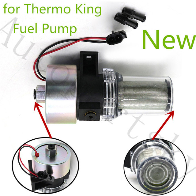 $ 56.48 30-01108-03 Fuel Pump Transicold Integral Filter for Thermo King MD/KD/RD/TS/URD 30-01108-02 41-7059 417059 300110803 417059AFP