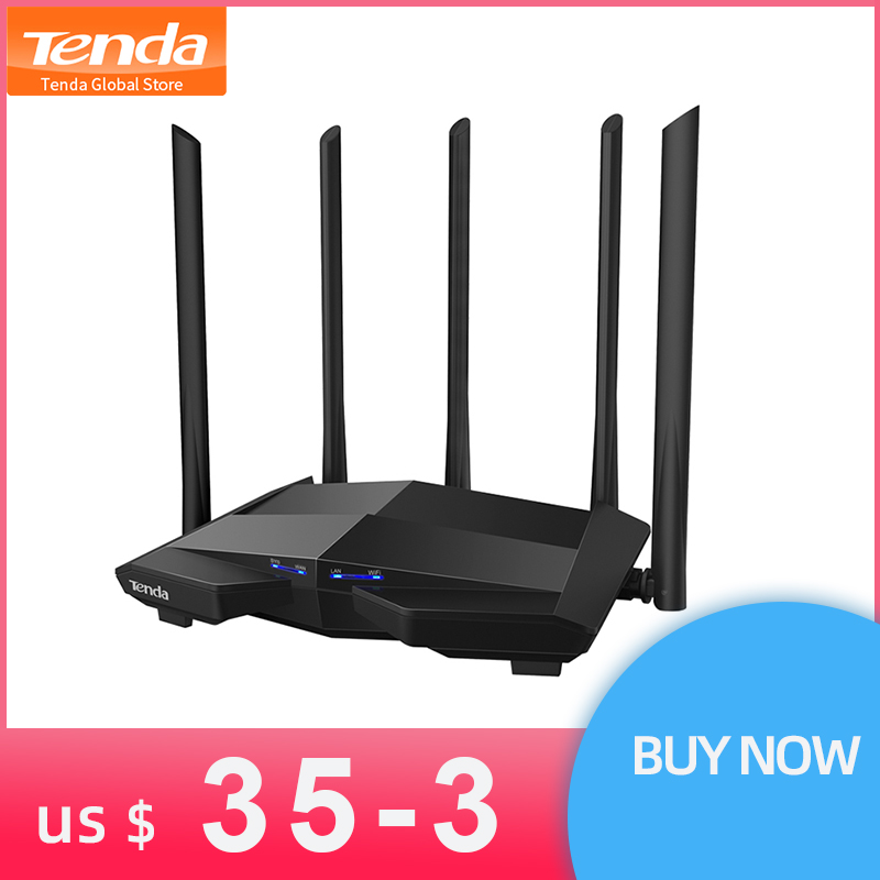 Latest Tenda AC11 5 6dBi HG Antennas AC1200 Gigabit Wireless Wi Fi Router Wifi Repeater 2
