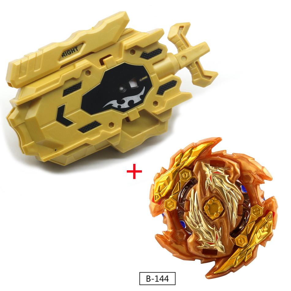 Hot Gold All Models Pitcher Beyblade Burst Toy With 2-wire Launcher Baybladel Rotating Blade Blade Children High Performance Toy