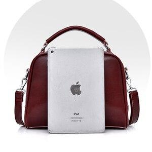 Image 4 - حقيبة فاخرة عبر الجسم للنساء 2020 جلد طبيعي حقائب كتف متنقلة عالية الجودة حقائب اليد مخلب الحقيبة