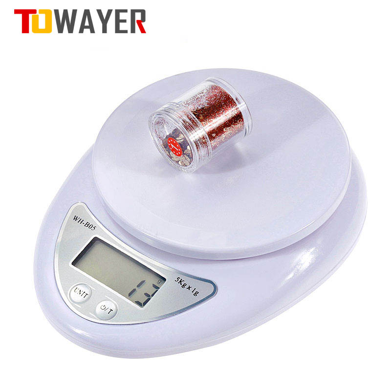 Digital-Scale Electronic-Scales Food-Measuring-Weight LED Kitchen Towayer Portable Postal