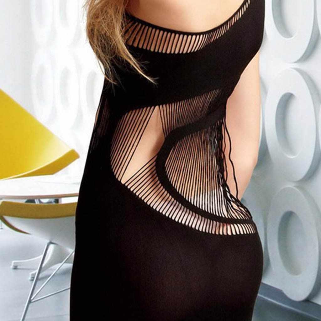 Wanita Seksi Baju Tidur Berongga Renda Baju Tidur Baju Tidur Dress Lingerie Seksi Jubah Nightie untuk Wanita Baju Tidur Sexy Plus Ukuran XXL