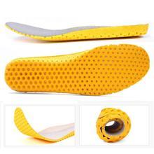 Viscoelastic Foam Orthopedic Insoles Breathable Orthopedic For Shoe Soles Unisex O9G1