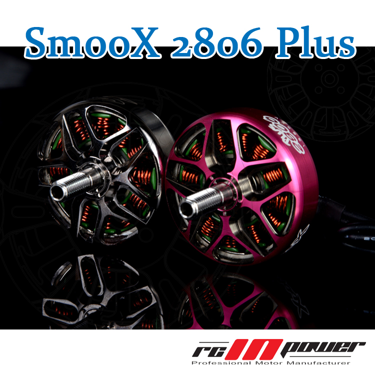 1PC RCINPOWER SmooX 2806 Plus Brushless Motor 1350kv 1750kv 7 Inch Propeller Freestyle For RC Racing Drone Parts