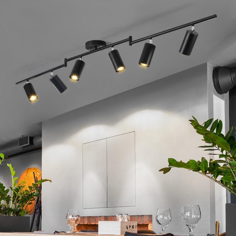 Modren Led Ceiling Lamp Lighting Angle Adjustable Spotlights GU10 Spot Lights For Store Shop Showroom Lighting 110v 220v