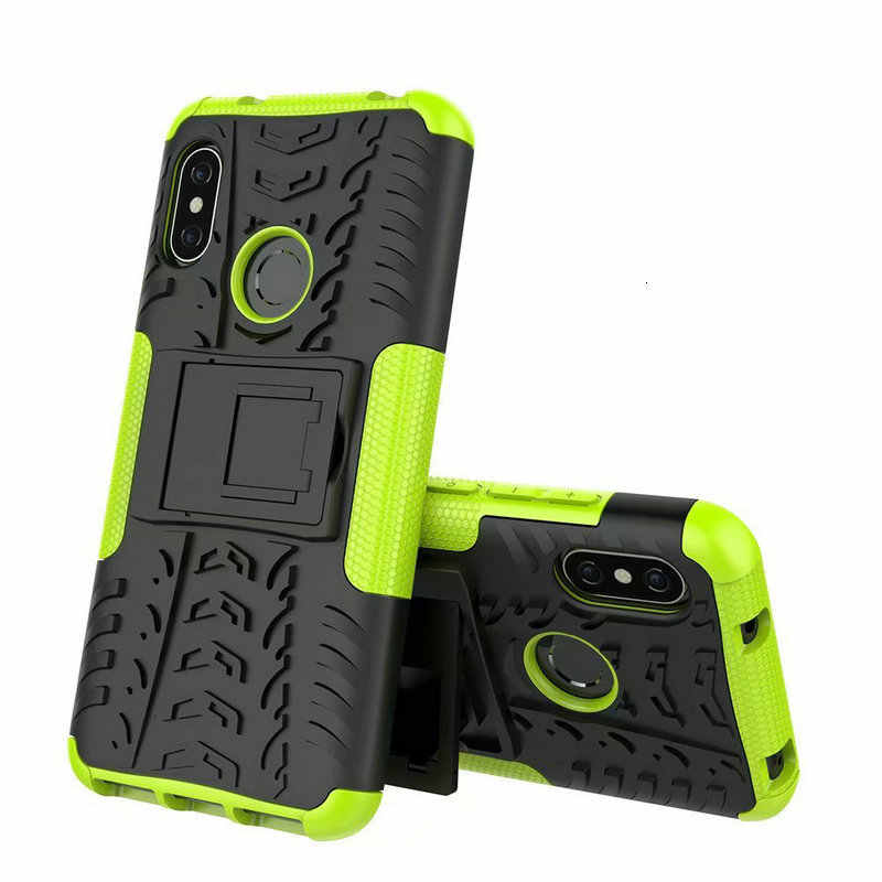 For Honor 8X 6.5'' TPU 2 in 1 Shock-Proof Rugged Armor Case For Huawei honor 8X 8A 8S 8C Cover Capa Kickstand 20 Pro P30 Lite