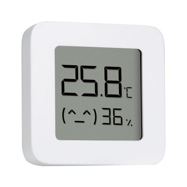 New XIAOMI Mijia Bluetooth Thermometer 2 Wireless Smart Electric Digital Hygrometer Work with Mi APP Humidity Sensor xiami xiomi 6