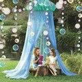 2 шт 7 футов плоские под морем Красочные гирлянды с пузырьками маленькая Русалка день рождения висит потолок настенный баннер стример детск...