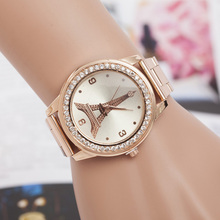 Montre Femme Moda Mujer 2019 Hot Sale Tower Dial High Quality Student Watch Causal Kids Clock Alloy Brand Gifts Relogio Feminin
